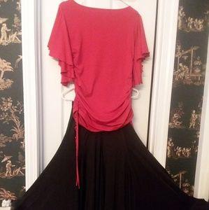 Ballroom Dance top and skirt